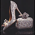 Escarpins cinderella - pochette cloud - jimmy choo