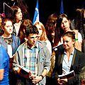 Le concours national de la résistance et de la déportation de vaucluse en photos par mlle carine moliner