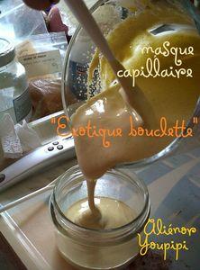 Masque cappillaire Exotique bouclette 01