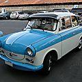 Trabant p50/p60 (600), 1958 à 1964