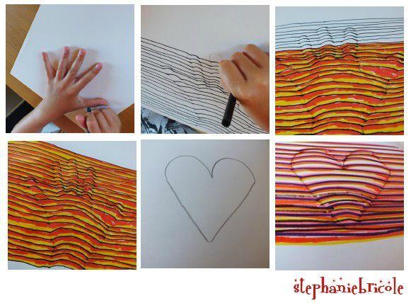 id e d 39 activit s pour les enfants dessiner sa main en relief concours et cadeaux gagner. Black Bedroom Furniture Sets. Home Design Ideas