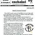 Cahiers de devoirs : chapitre 31 : ma dernière