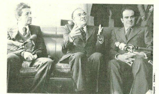 Marchais, Carillo, Berlinguer