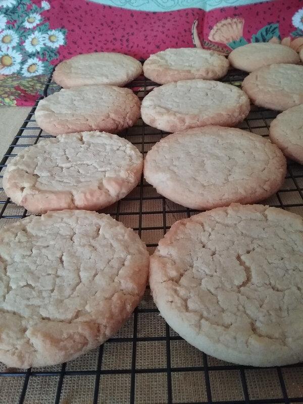 Cookies à la farine de maïs 020