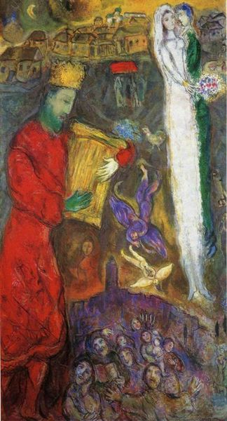 chagall-king-david