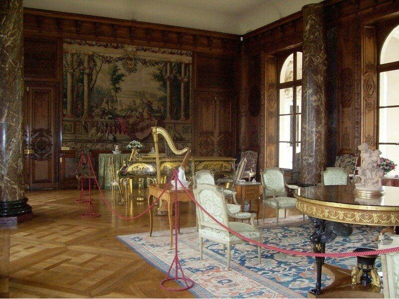 GRAND SALON RENAISSANCE CHATEAU DE BIZY
