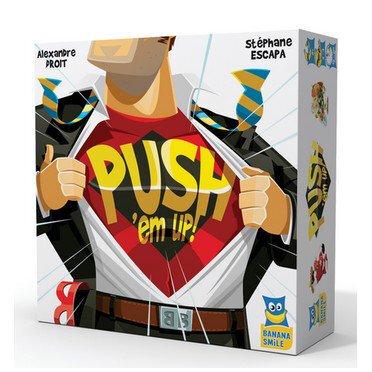 Boutique jeux de société - Pontivy - morbihan - ludis factory - Push'Em Up