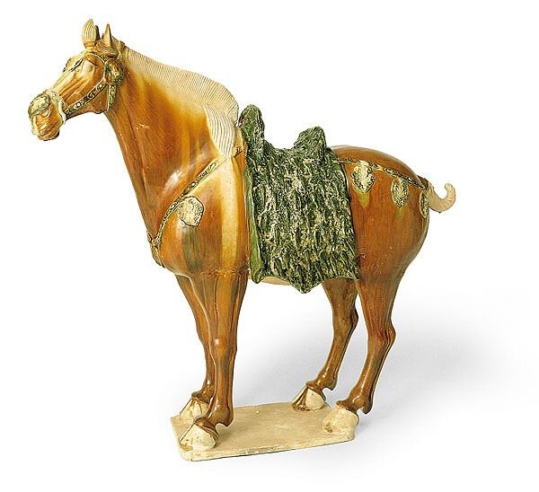 Standing horse, Tang Dynasty 618–907