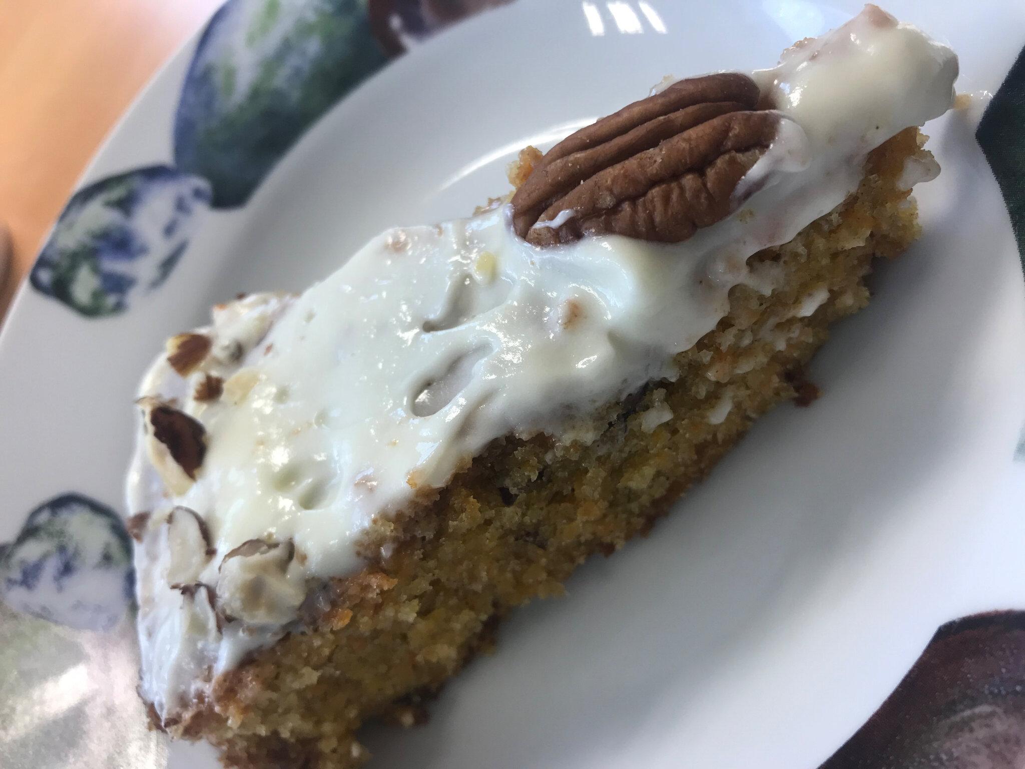 Carotte cake ma recette coup de coeur