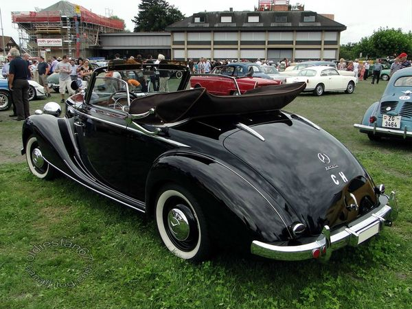 mercedes benz 170sa cabriolet 1951 4