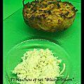 Galette aux 2 patates