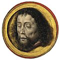 Albrecht bouts (leuven 1451/60-1549), the head of saint john the baptist on a charger