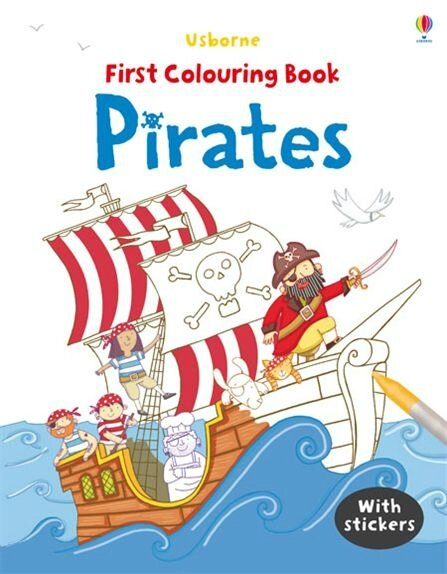 first-colouring-book-pirate