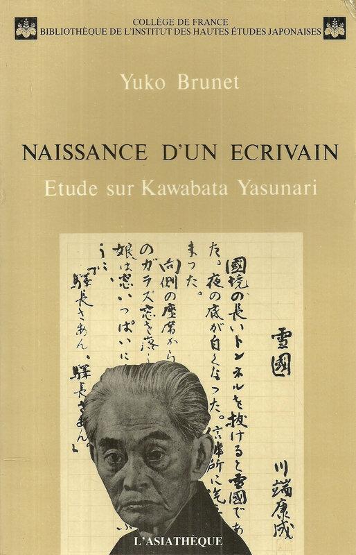 Canalblog Livres Kawabata Naissance D Un Ecrivain