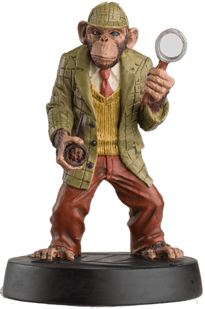 eaglemoss DC detective chimp