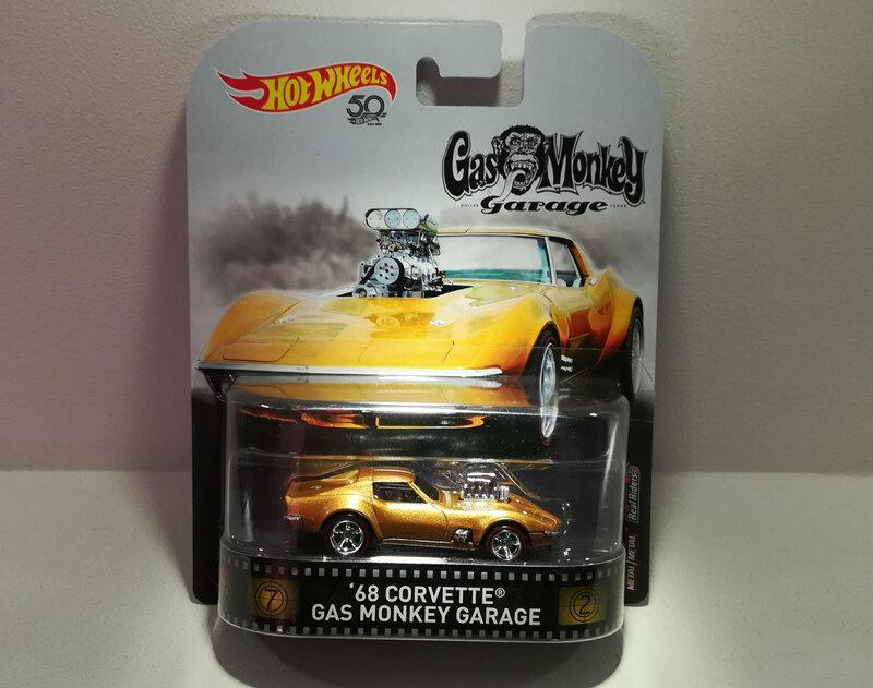 Chevrolet Corvette de 1968 (Gaz Monkey Garage) Hotwheels)