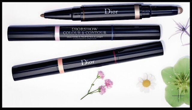 dior glowing gardens duo fard paupieres eye liner