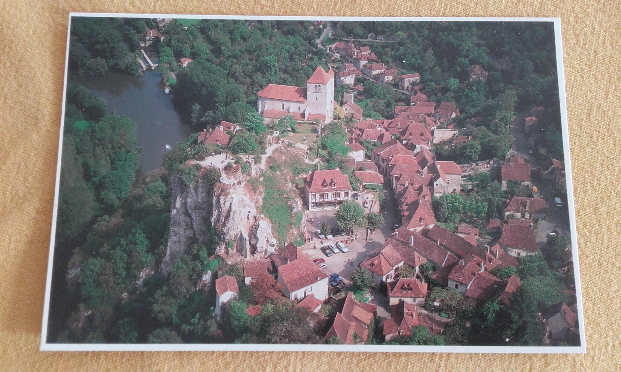 St Cirq Lapopie - datée 2002