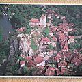 Saint Cirq Lapopie datée 2002