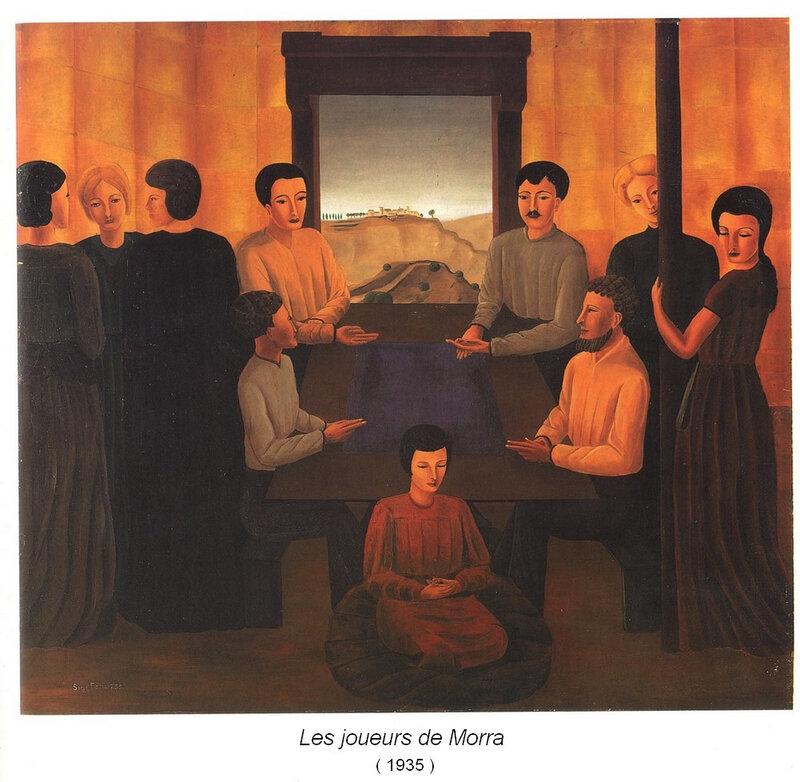 4 Les Joueurs de Morra - 1935