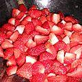 Tiramisu a la fraise et fleur d oranger