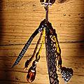 Grigris ou bijoux de sacs.