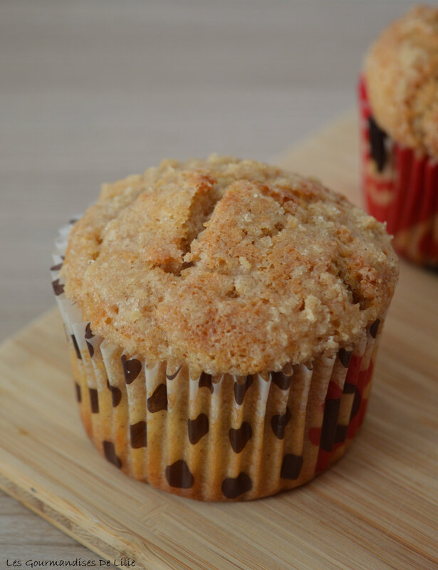 muffins pomme cannelle (3L)