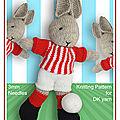 Football bunny - debi birkin