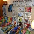 Anmarie, soie et cartes postales