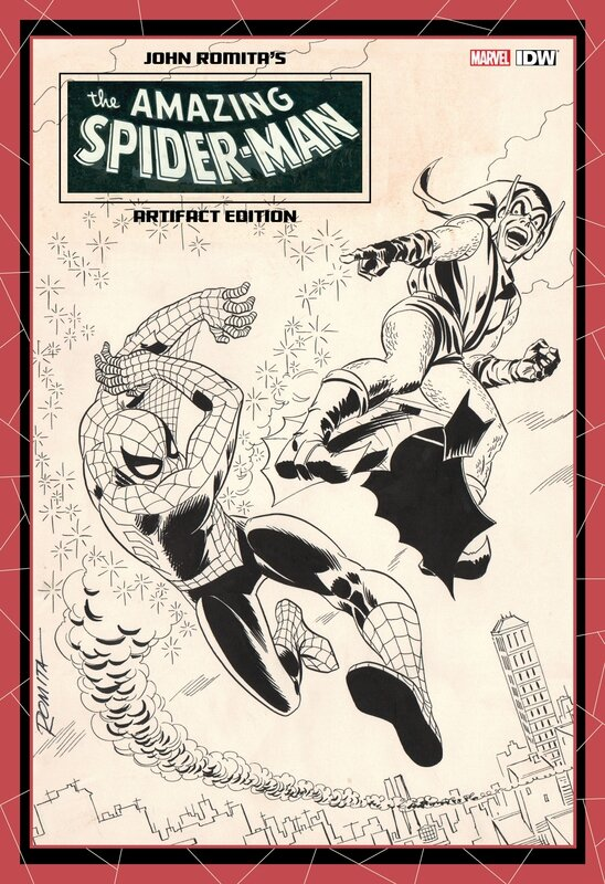 artifact edition john romita amazing spiderman HC