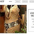 Originales et décalées... un nouveau site pour les ceintures façon patchwork.
