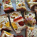 Légumes en cake