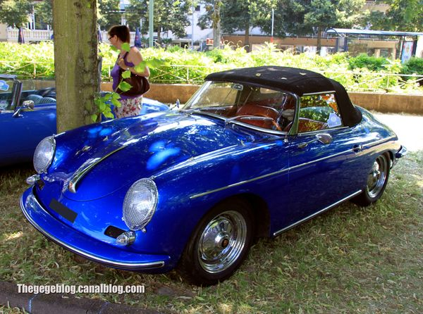 Porsche 356 1600 super convertible (37ème Internationales Oldtimer Meeting de Baden-Baden) 01