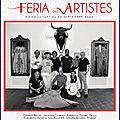 Béziers - vernissage feria des artistes