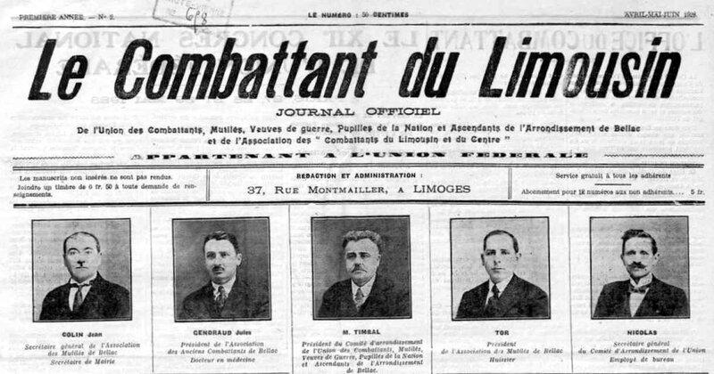 Le combattant du Limousin