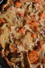tarte fine fenouil carotte citron confits