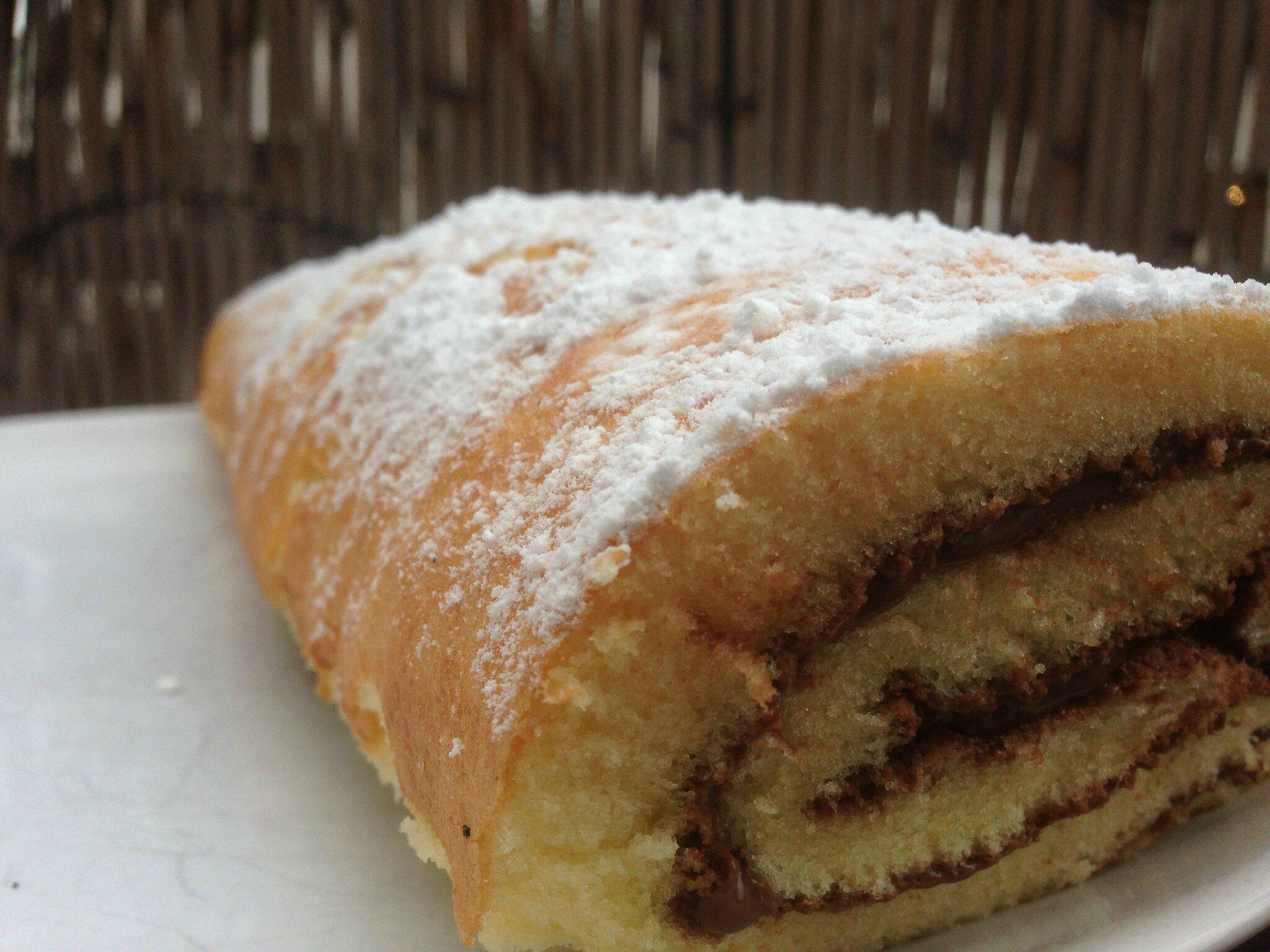 Roule Au Nutella Sans Battre Les Blancs En Neige World Food