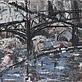 Paris 1930 -acryl2015- 40X80cm- (n°5 )