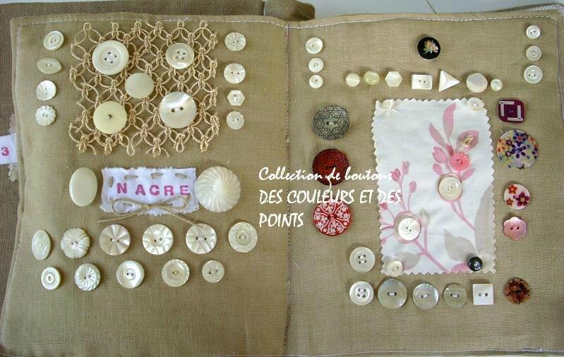 5 boutons de nacre