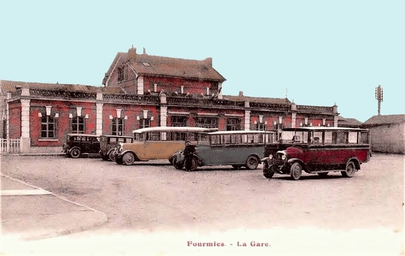 FOURMIES-La Gare