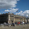 Le beau ciel de paris. septembre 2015