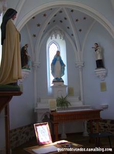 Interieur de la Chapelle de la Musse