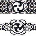 bracelet triskel+celtique