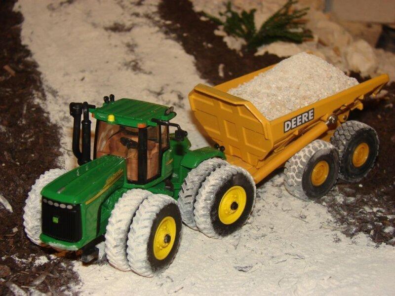 Tracteur John Deere 9620