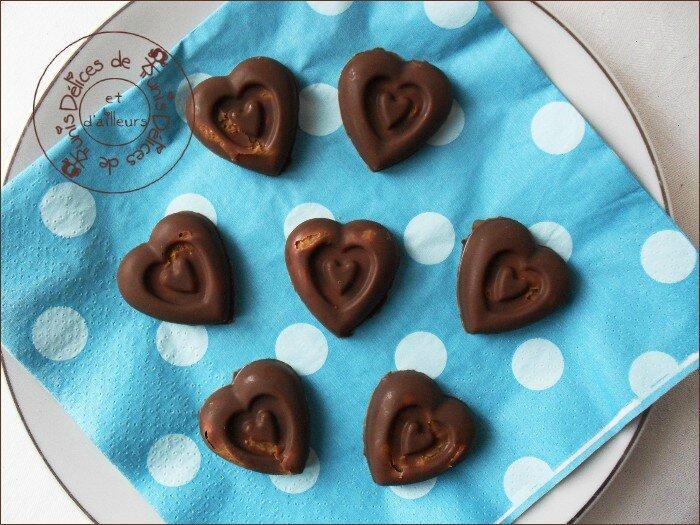 Chocolats maison aux speculoos 2