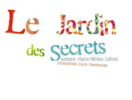 Présentation album jardin secrets