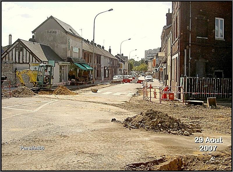 Rouen - Rue Saint-Julien - 29 Aout 2007