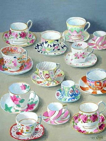 Cups_and_Saucers_on_Beige_24x18_3000