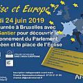 A la découverte du parlement européen