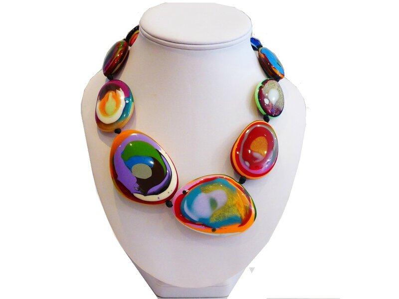 Bijoux resine createur bresilien